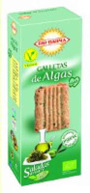 Veganské BIO sušenky slané s mořskou řasou