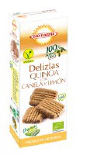 Veganské BIO sušenky sladké s Quinoou