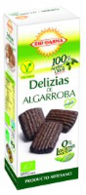 Veganské BIO sušenky sladké s Karobem